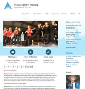 Homepage Theatersport-Freiburg.de neu
