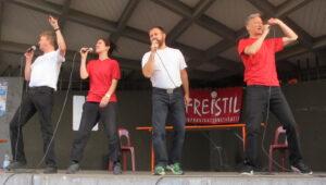 FREISTIL Open Air Impro-Theater-Sommer 2021 Stadtgarten Freiburg