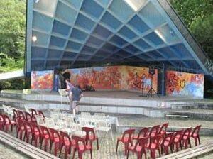 Bühne Stadtgarten Musikpavillon 2011