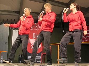 FREISTIL Impro-Comedy-Show Open Air Stadtgarten 2021
